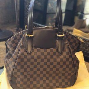 AUTHENTIC LV damier Verona mm shoulder bag brown!